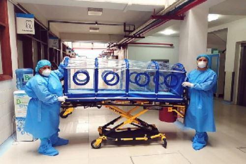 Madre de Dios: EsSalud crea cápsula de aislamiento para pacientes con coronavirus