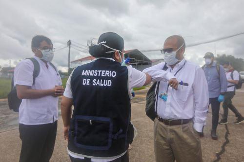 El ministro de Salud y la ministra de Producción llegan a Loreto para coordinar acciones frente al coronavirus