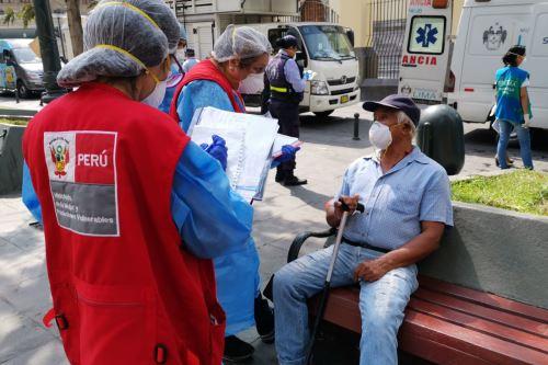 MIMP y la Municipalidad de Lima se unen para ayudar a personas que se encuentran en estado de abandono