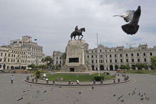 Coronavirus: Así lucen algunas calles y zonas emblemáticas de Lima