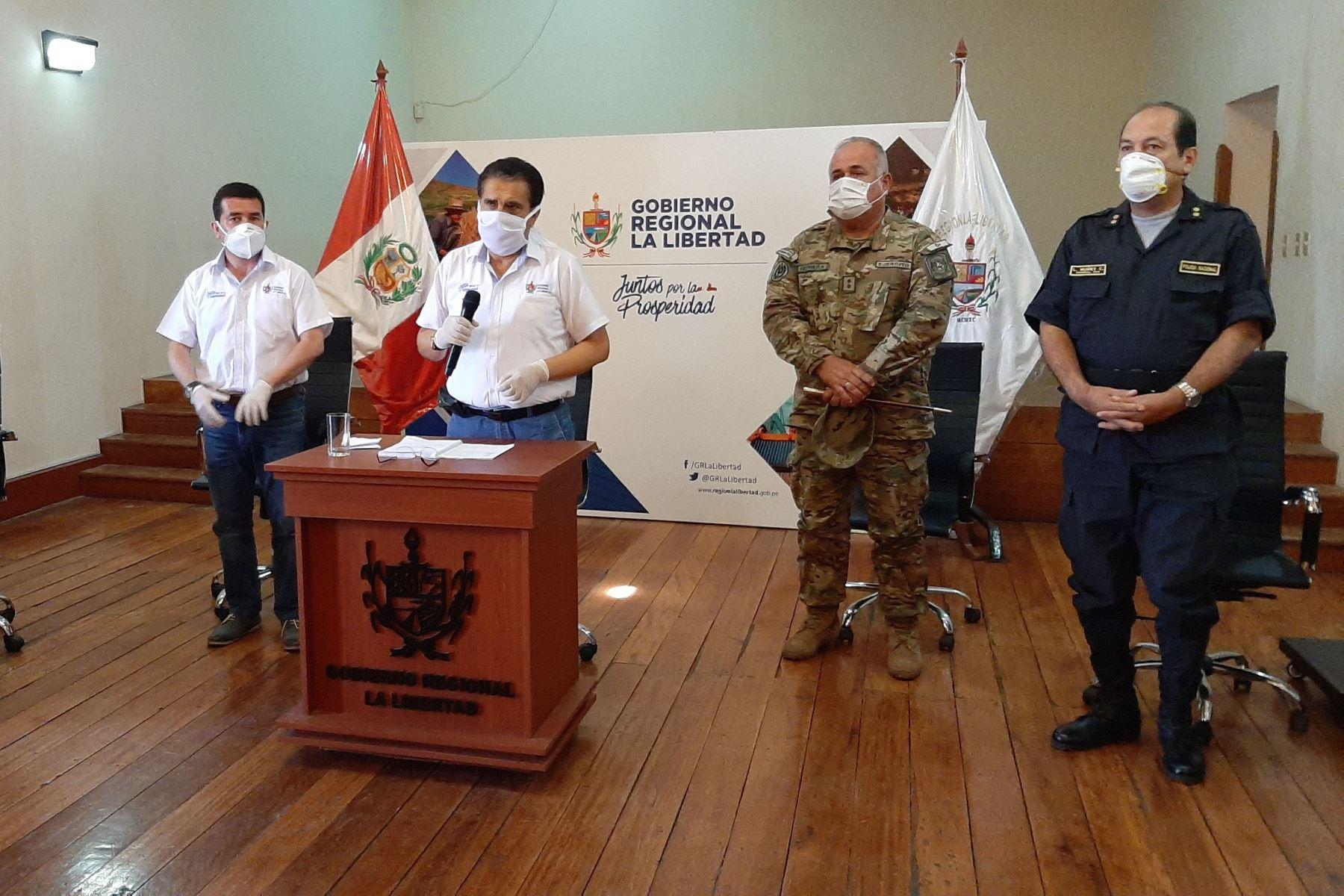 La región La Libertad destacó la extensión del horario de inmovilización social obligatoria para frenar el avance del coronavirus. Foto: Cortesía/Luis Puell