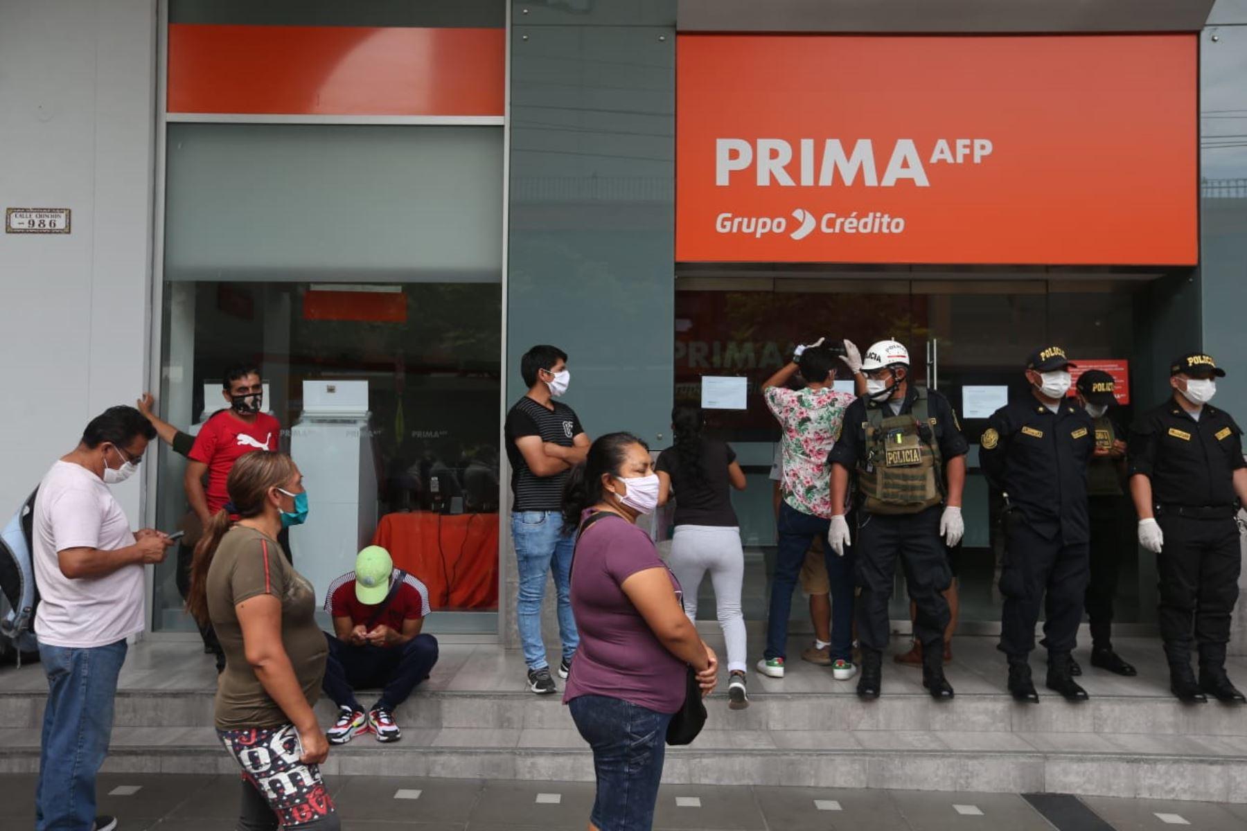 Primer desembolso de AFP se realizará a los 30 días de presentada la  solicitud   Noticias   Agencia Peruana de Noticias Andina