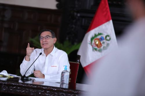 Coronavirus: Presidente Vizcarra informa junto a Ministros de Estado sobre la situación del Estado de Emergencia en el día 16