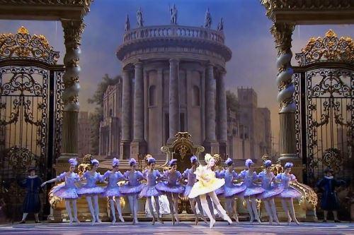 Ballet en el Teatro Bolshói de Moscú. Foto: Internet/Medios