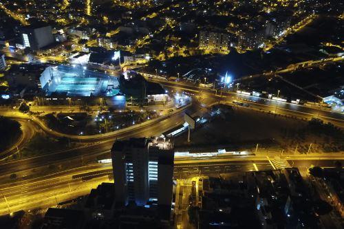Fotos con Drone: Inmovilización obligatoria en Lima de 18:00 a 05:00 hrs.