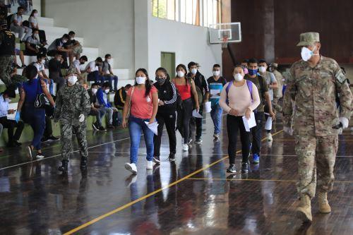 Coronavirus: personal de reserva del Ejército convocado para enfrentar la emergencia sanitaria se presenta en las unidades militares