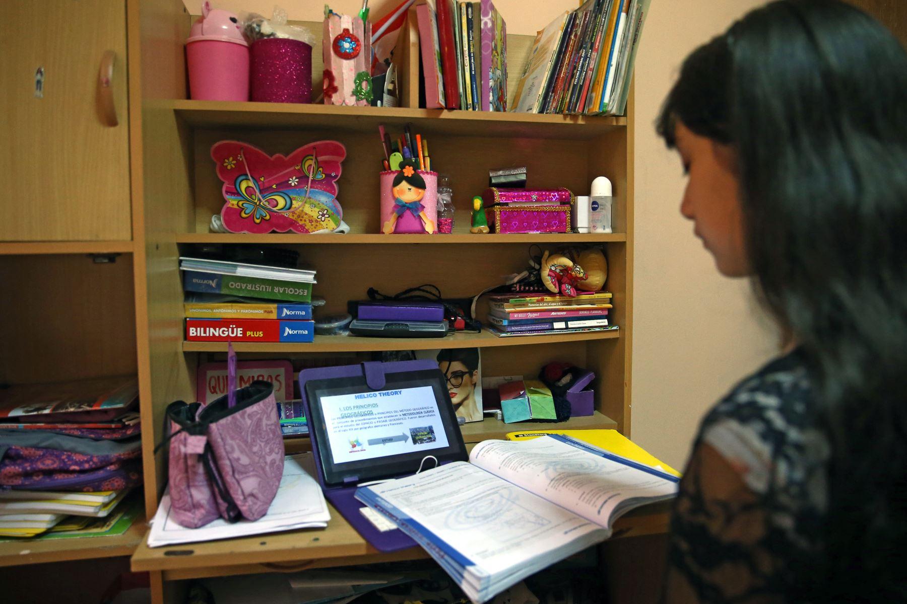 Hay dos aspectos importantes a considerar en el proceso de retorno a las clases, explica psicólogo a la agencia Andina. Foto:ANDINA/Vidal Tarqui