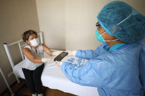 Coronavirus: Empresas entregan donaciones al Centro de Atención y Aislamiento Villa Panamericana
