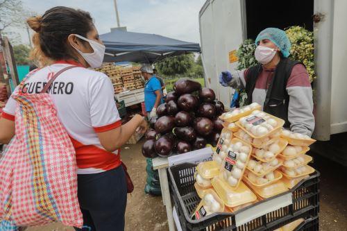 Coronavirus: Abastecimiento de alimentos descentralizado en Comas