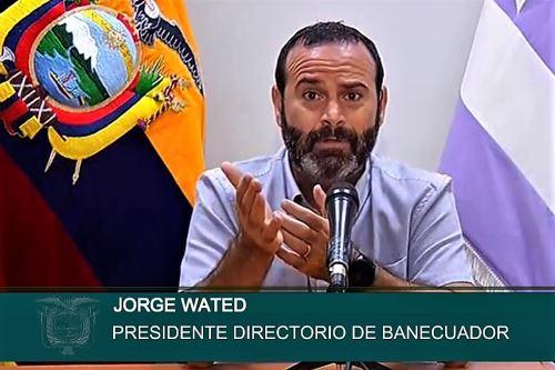 Jorge Wated, responsable del grupo Fuerza de Tarea Conjunta creado por el gobierno de Ecuador. Foto: Internet/Medios