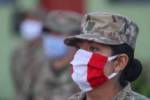 Bienvenida a reservistas voluntarios convocados para enfrentar la emergencia del coronavirus