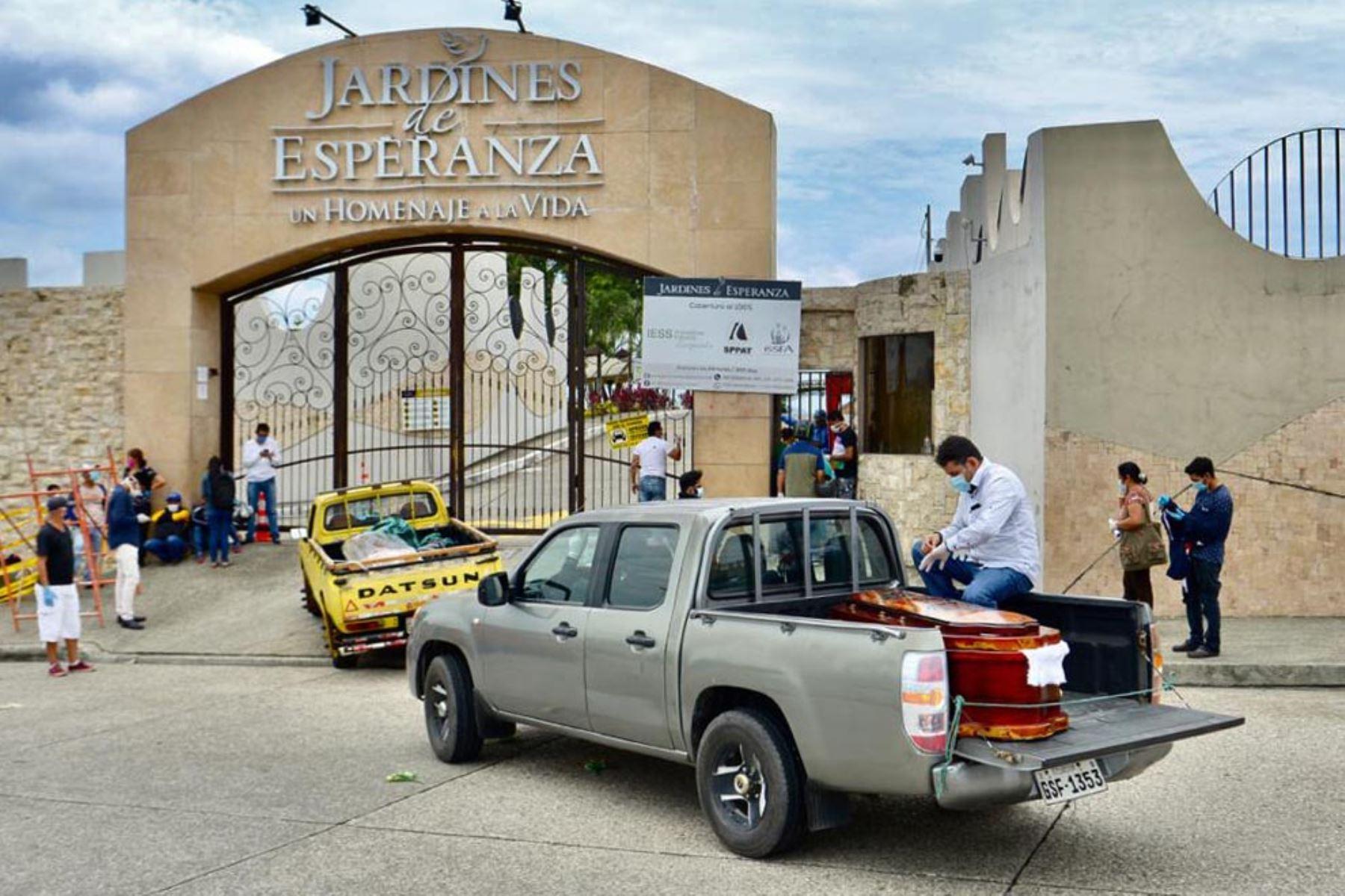 Guayaquil es la ciudad más afectada por el coronavirus en Ecuador. Foto: AFP