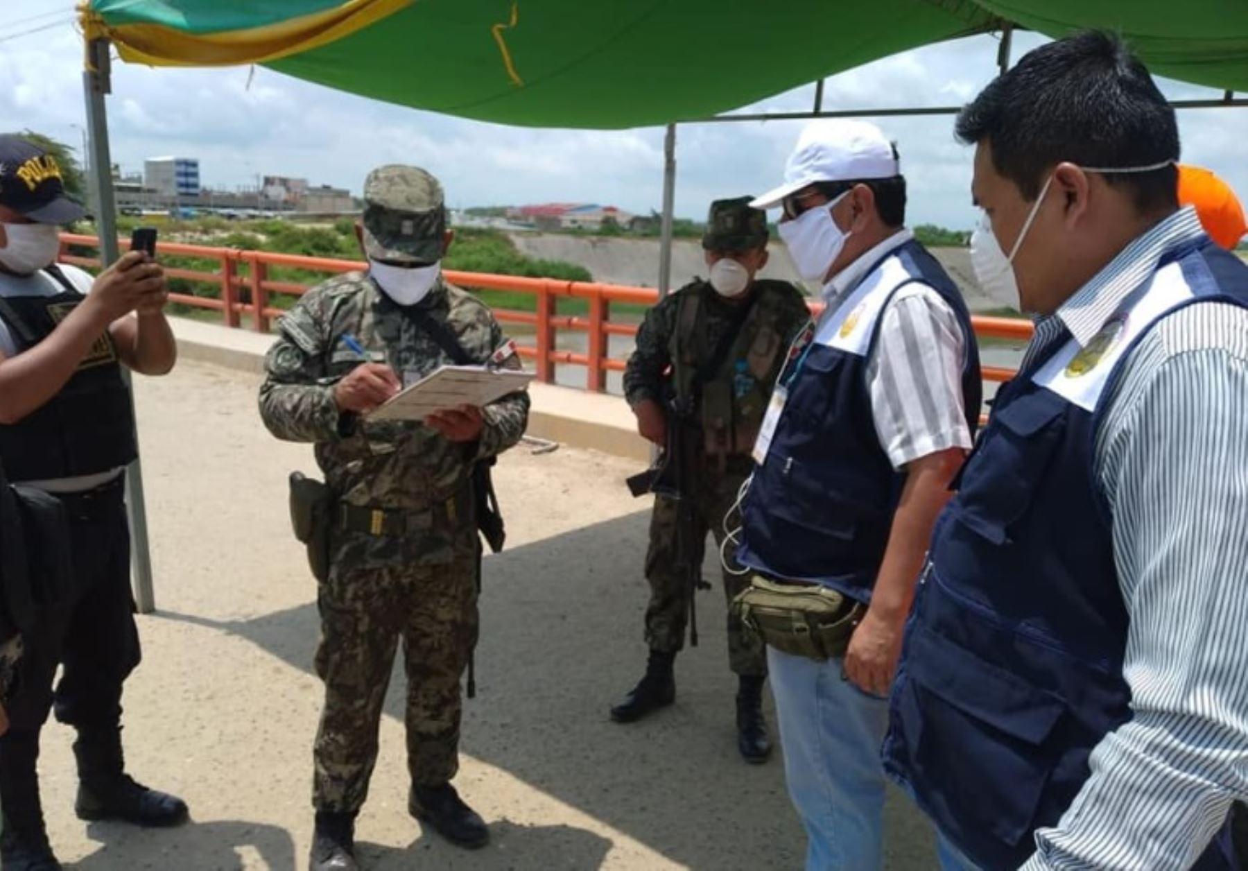 Coronavirus: región Tumbes refuerza vigilancia y control en frontera con Ecuador | Noticias | Agencia Peruana de Noticias Andina