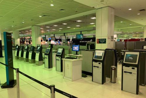 Así luce el aeropuerto en Australia ante el avance del coronavirus