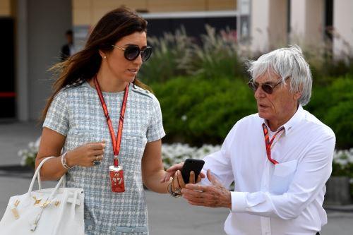 Bernie Ecclestone será padre a los 89 años