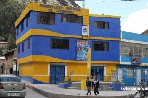 Municipio de Ascensión, en Huancavelica.