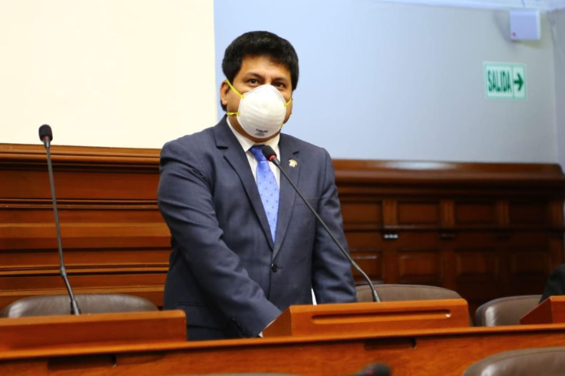 Leonardo Inga pidió que los candidatos eviten aglomerar gente en sus actividades. Foto: ANDINA/difusión.