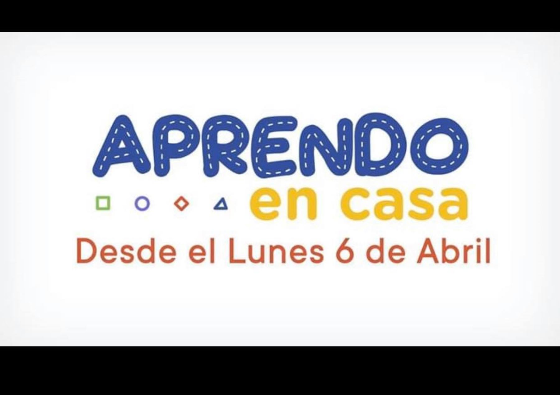 Aprendo en Casa, por TV Perú.