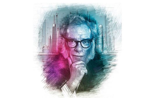 Escrito Isaac Asimov falleció un día como hoy hace 28 años.