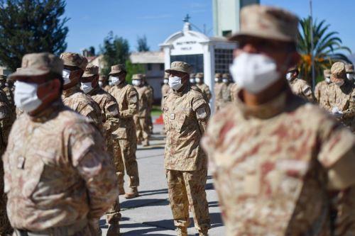 Coronavirus:Reservistas de Arequipa se integran  a los cuarteles del Ejercito del Perú