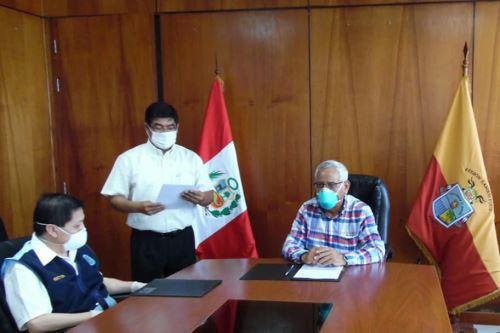 La Escuela de Ingeniería Electrónica y Mecánica de la Universidad Nacional Pedro Ruiz Gallo desarrollarán prototipo de respirador mecánico. Foto: UNPRG