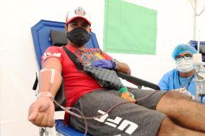 EsSalud realiza campaña itinerante de donación de sangre en supermercados. Foto: ANDINA/Difusión.