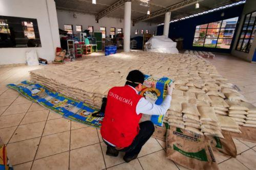 Coronavirus: Auditores de la contraloría, realizan supervisión a las municipalidades como parte del megaoperativo de emergencia sanitaria