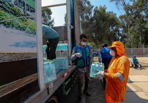 Coronavirus: MINAM brinda apoyo al personal de limpieza y manejo de residuos de las municipalidades