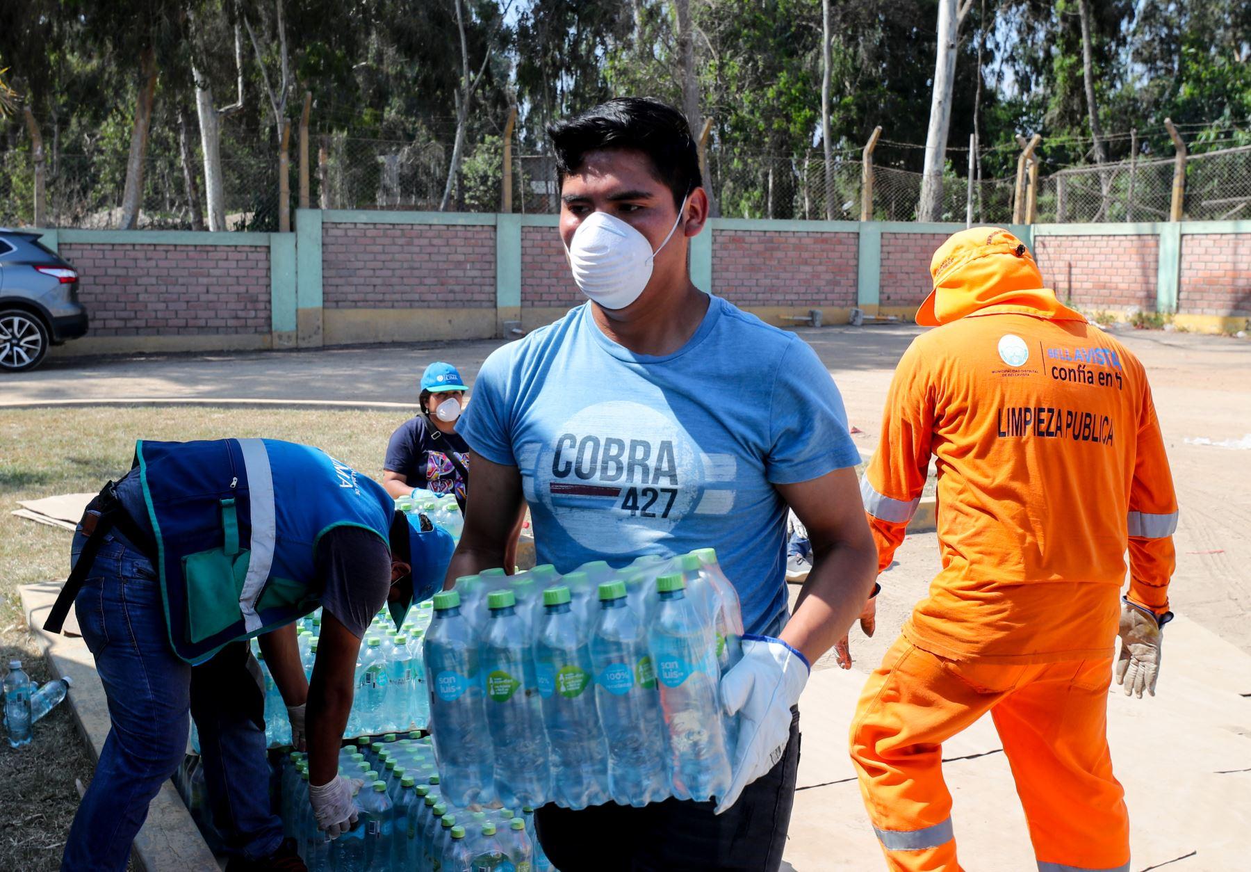 MINAM  brinda apoyo al personal de limpieza y manejo de residuos de las municipalidades. Foto: Ministerio del Ambiente