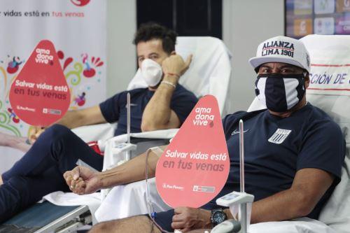 Coronavirus:Alianza Lima se suma a la campaña de donación de sangre impulsado por MINSA