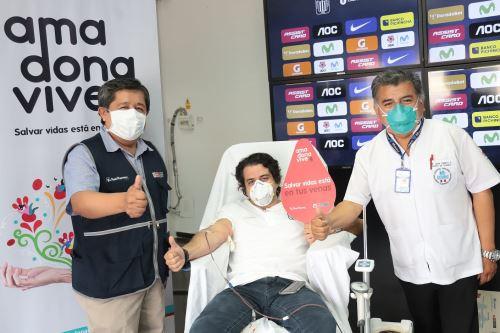 Fondo Blanquiazul ofreció que el estadio Alejandro Villanueva se convierta en un punto permanente de recolección de sangre.
