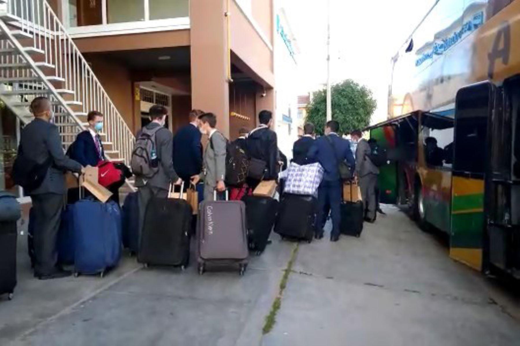 Trasladan a Lima a 40 misioneros que prestaban servicio social en cuatro regiones. Foto: ANDINA/Difusión