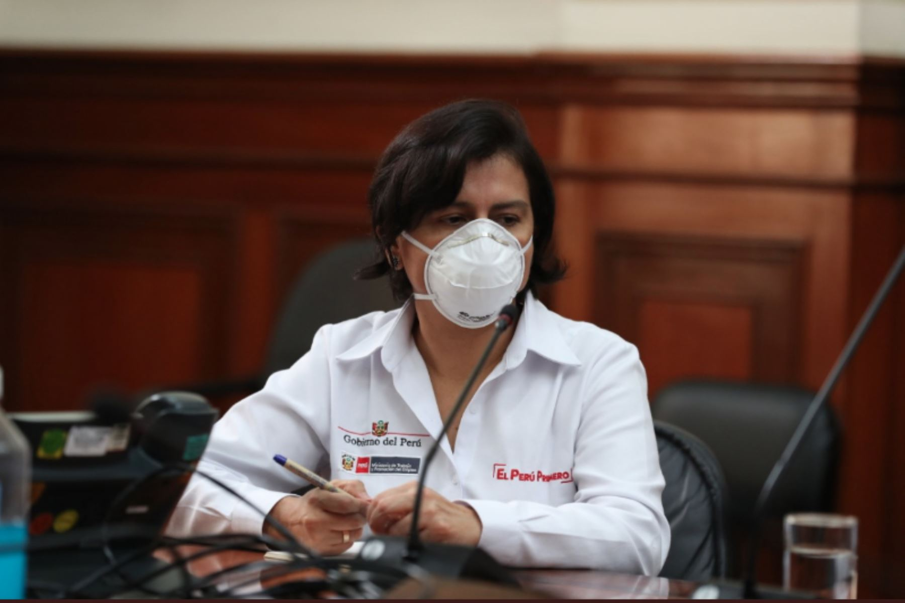 Ministra de Trabajo y Promoción del Empleo, Sylvia Cáceres. Foto: ANDINA/Difusión