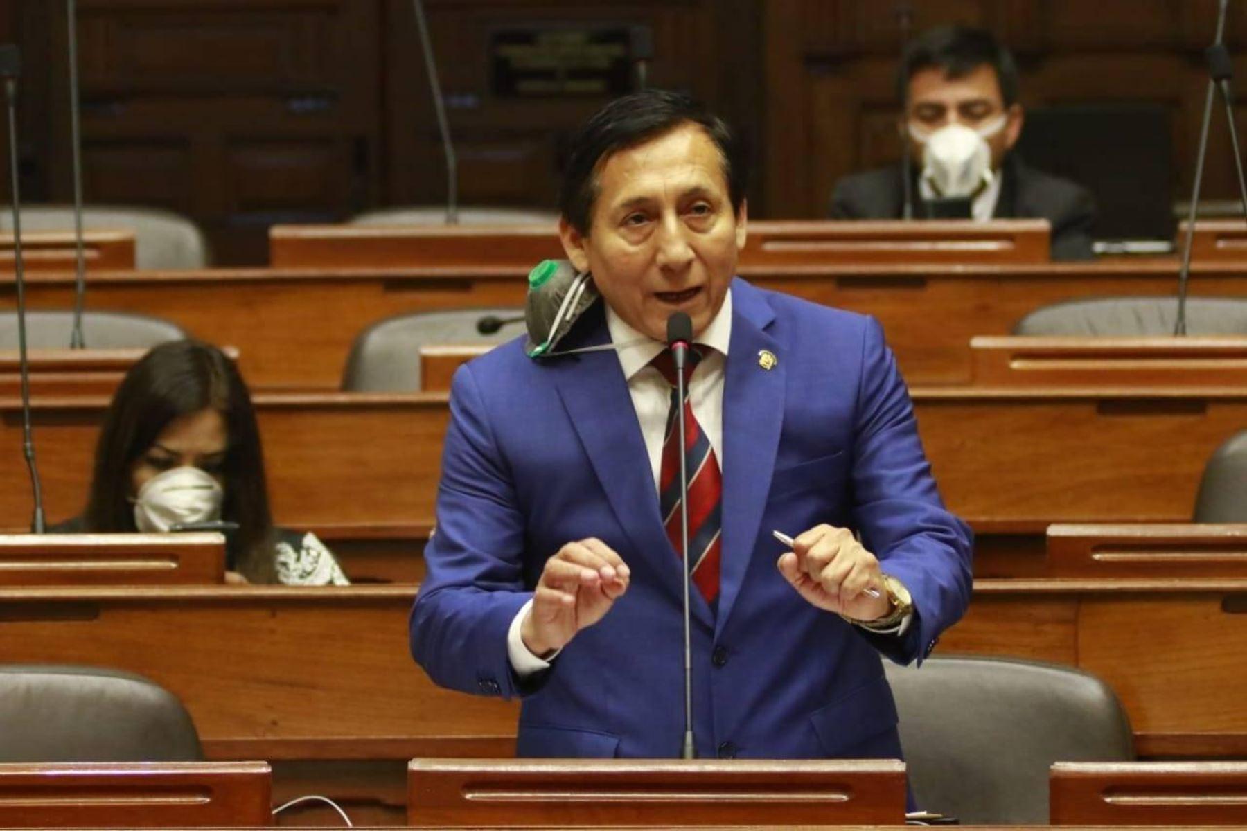 Congresista Carlos Almerí. Foto: ANDINA/difusión.