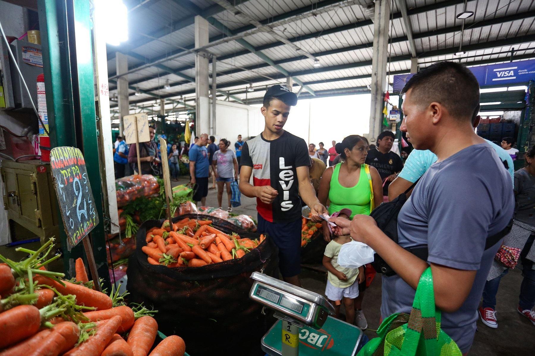 Mercado mayorista.