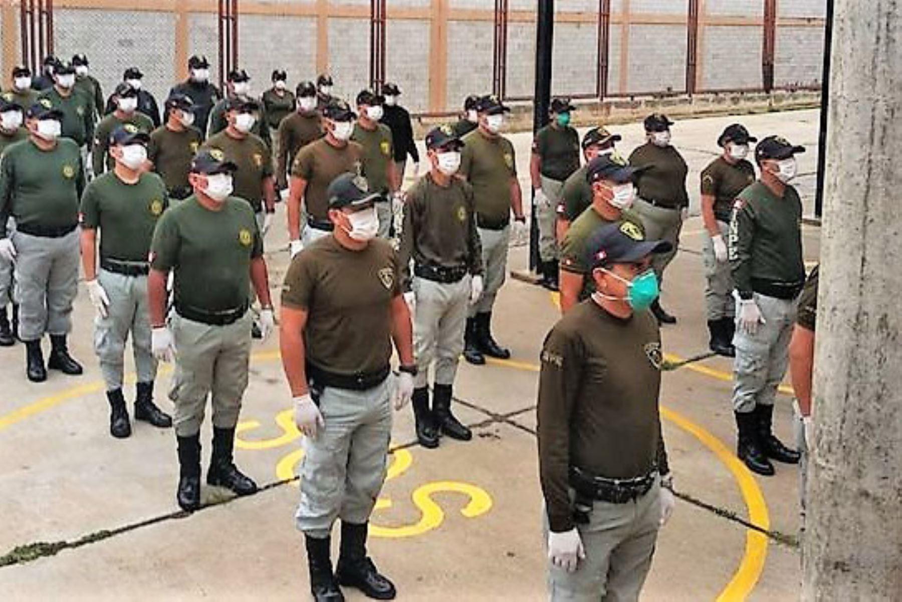 Personal del Instituto Nacional Penitenciario (Inpe). Foto: Difusión.