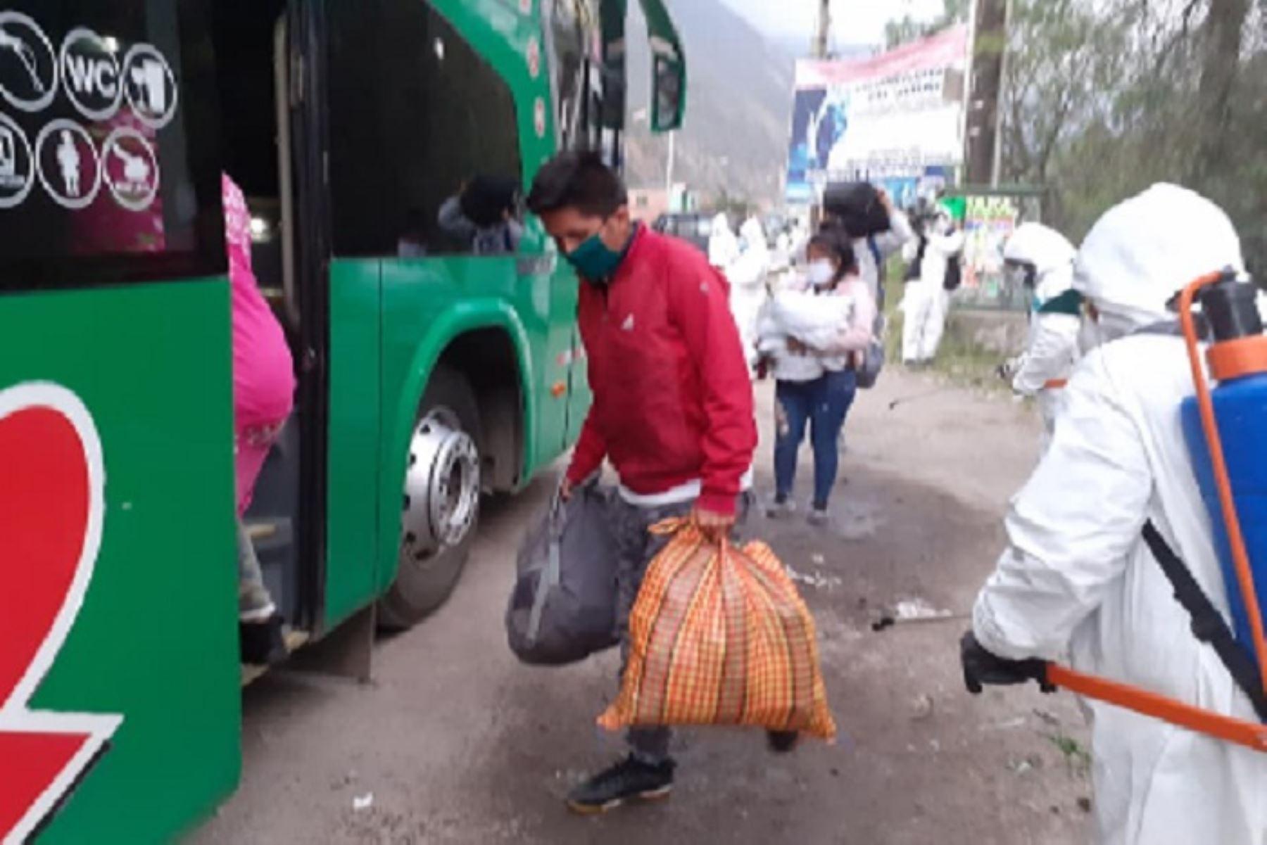 Los buses interprovinciales podrán reiniciar sus servicios a partir de julio, cumpliendo los protocolos específicos. ANDINA/Difusión