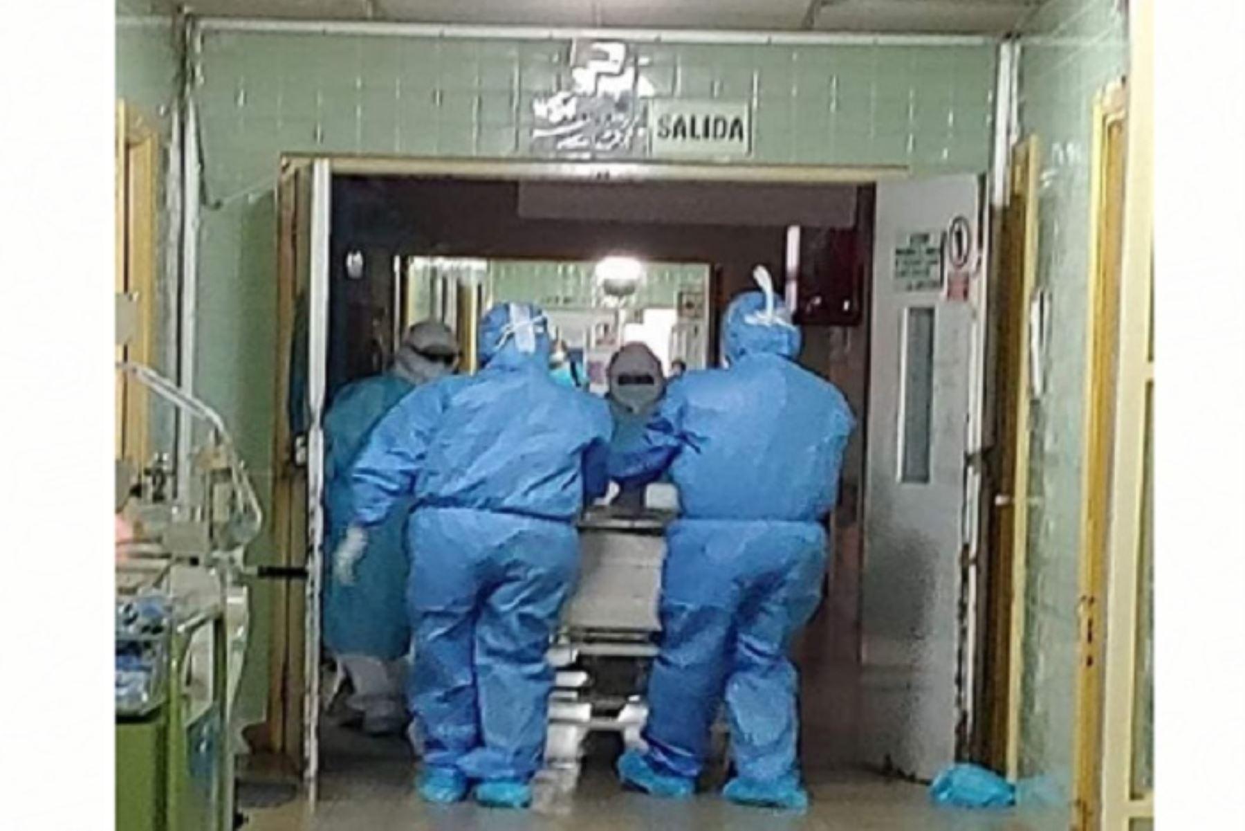 Alerta en Áncash por aumento de infectados y fallecidos por coronavirus en Chimbote y en provincias costeras. ANDINA/Difusión