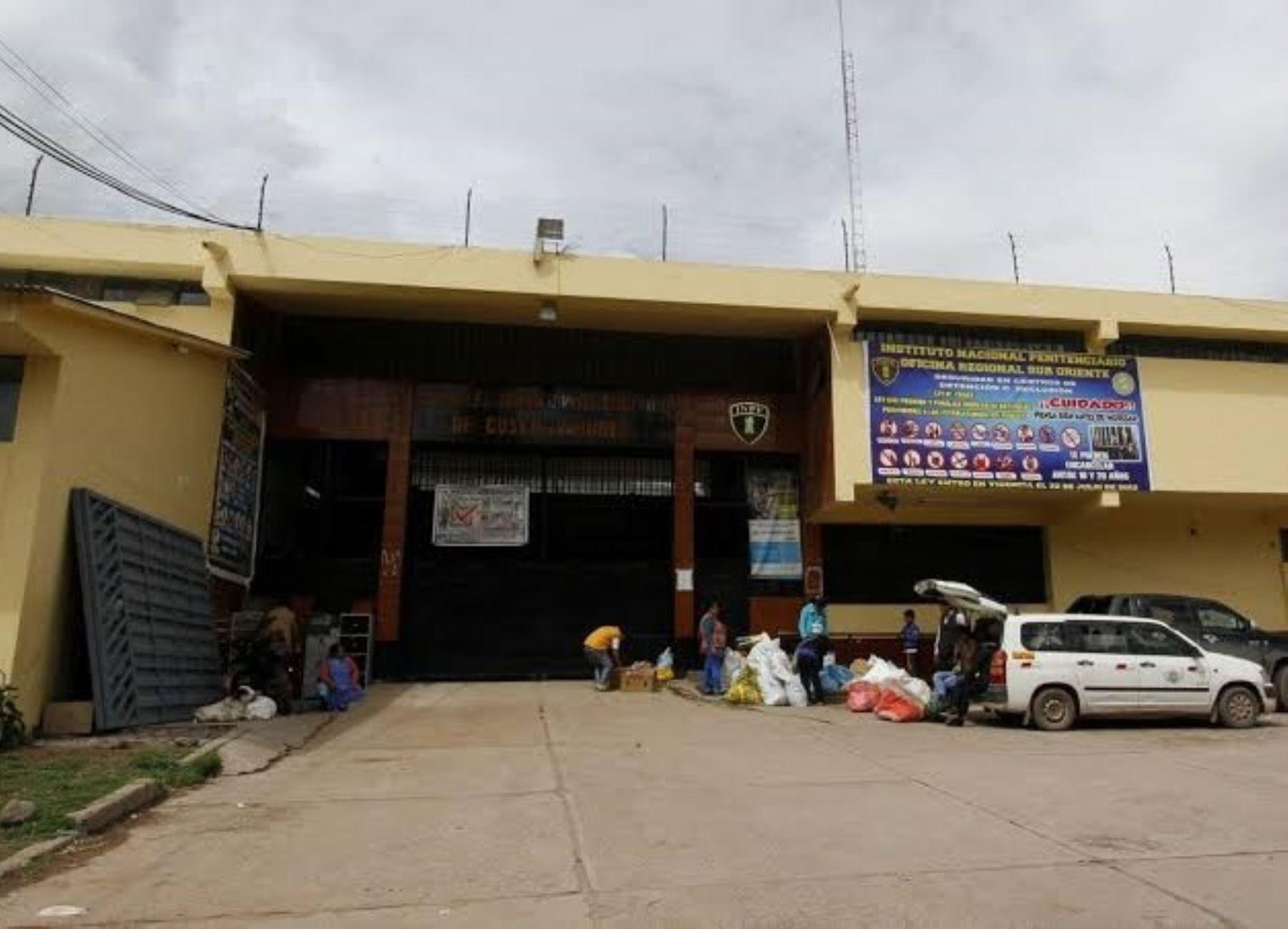 El Inpe afirma que el establecimiento penal de Cusco cuenta con una zona de aislamiento para posibles casos de coronavirus (covid-19).
