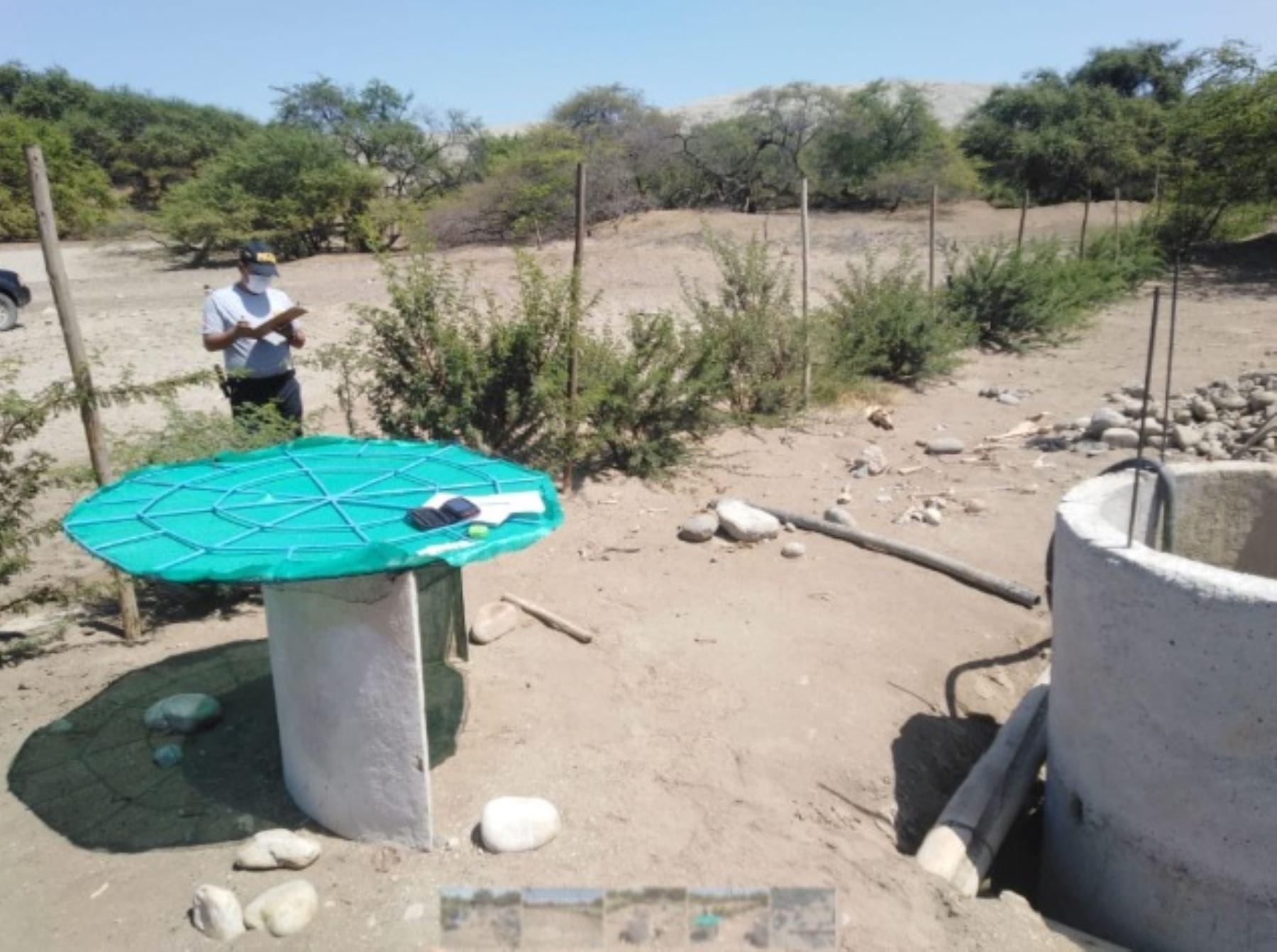 Especialistas del Ministerio de Cultura, en compañía de efectivos de la Policía Nacional del Perú, verificaron que vecinos de la zona arqueológica monumental Chankillo, en la región Áncash, han aprovechado la situación de emergencia para instalar un pozo de agua y plantones dentro de los límites, con la finalidad aparente de efectuar actividades agrícolas.