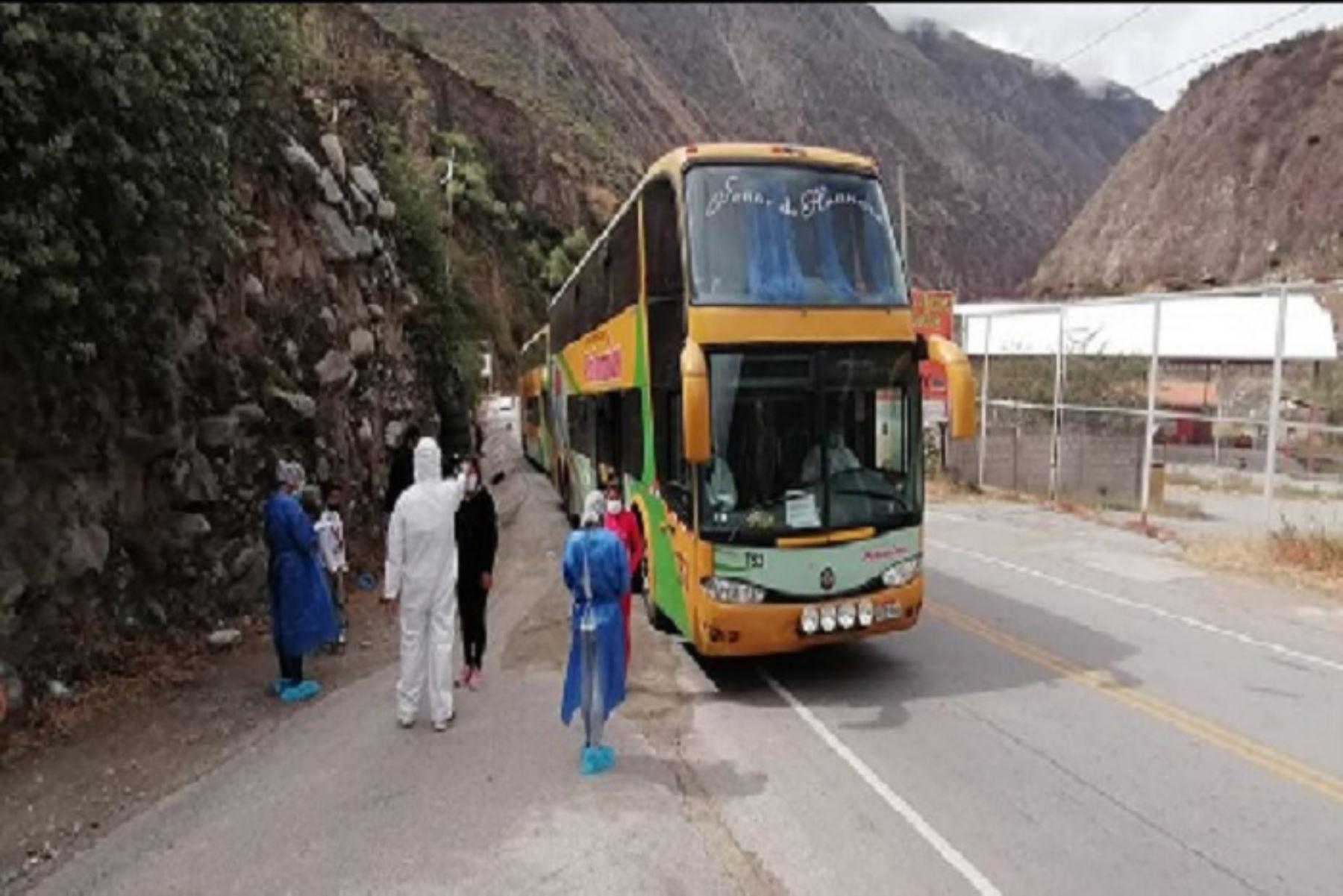 Traslado humanitario: más de 1,350 apurimeños retornaron a sus provincias de origen