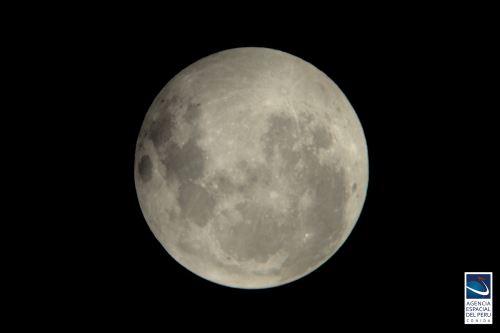 La Luna llena se verá sobre el cielo limeño el próximo 22 de agosto.   Foto: CONIDA