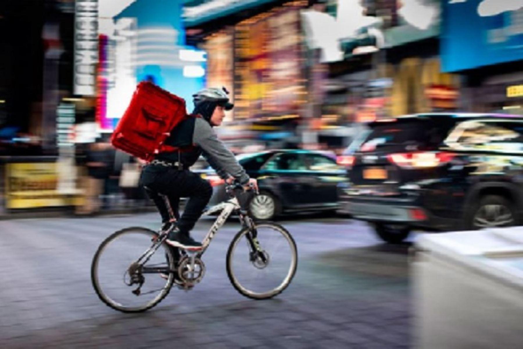 Servicio de entrega a domicilio. Foto: ANDINA/difusión.