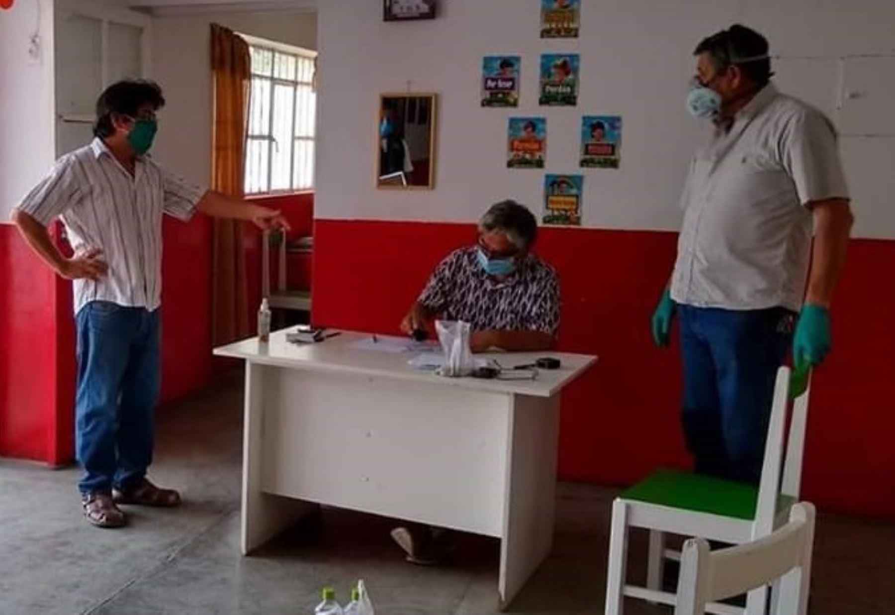 Ciudadanos de la provincia de Chepén, en La Libertad, dan el ejemplo y organizan colecta para comprar oxígeno para la atención de pacientes infectados con coronavirus. ANDINA/Difusión