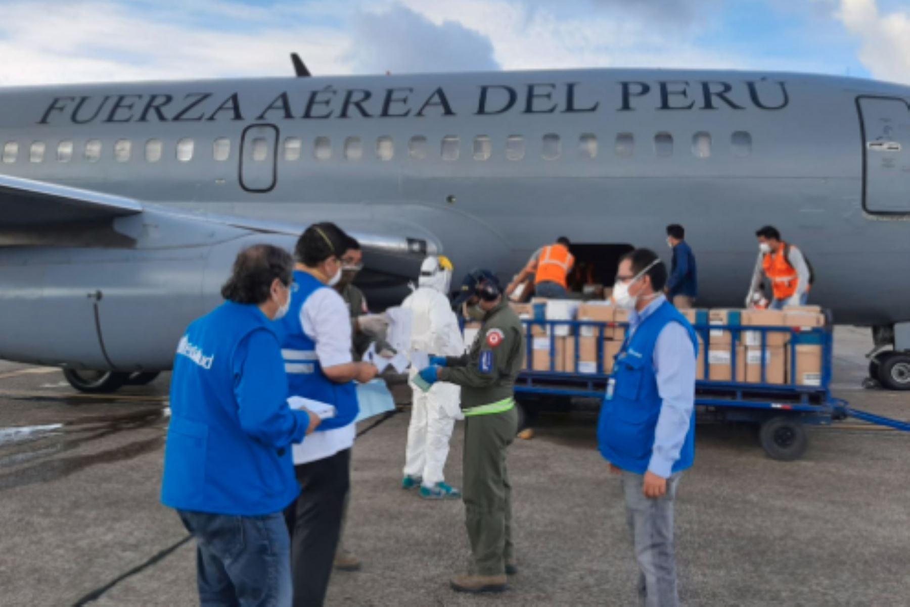 EsSalud Loreto recibe hoy siete toneladas de equipos de protección personal (EPP), implementos y medicinas.