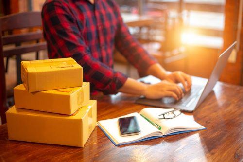 Comercio electrónico. ANDINA/Difusión