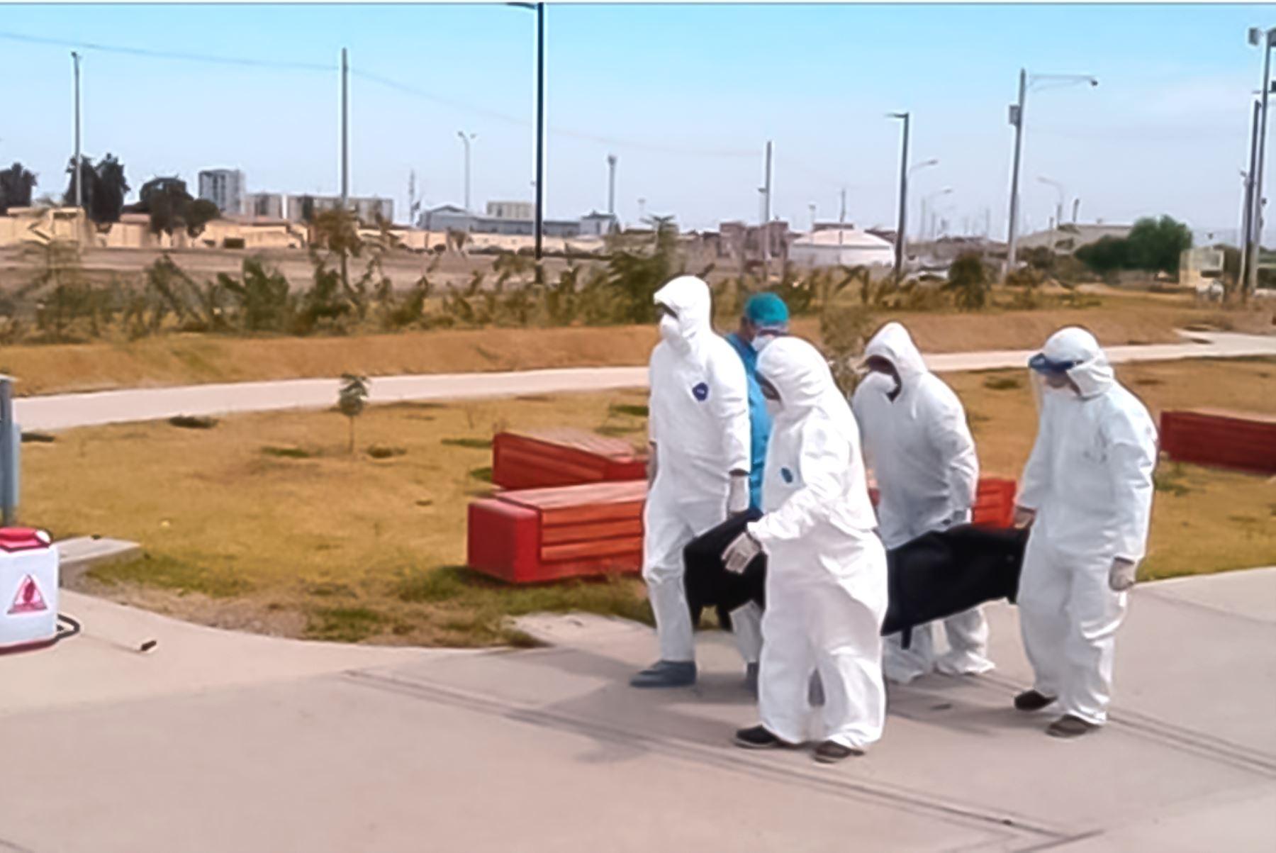 Coronavirus: SIS garantiza gratuidad de servicios de inhumación y cremación. Foto: ANDINA/Difusión.