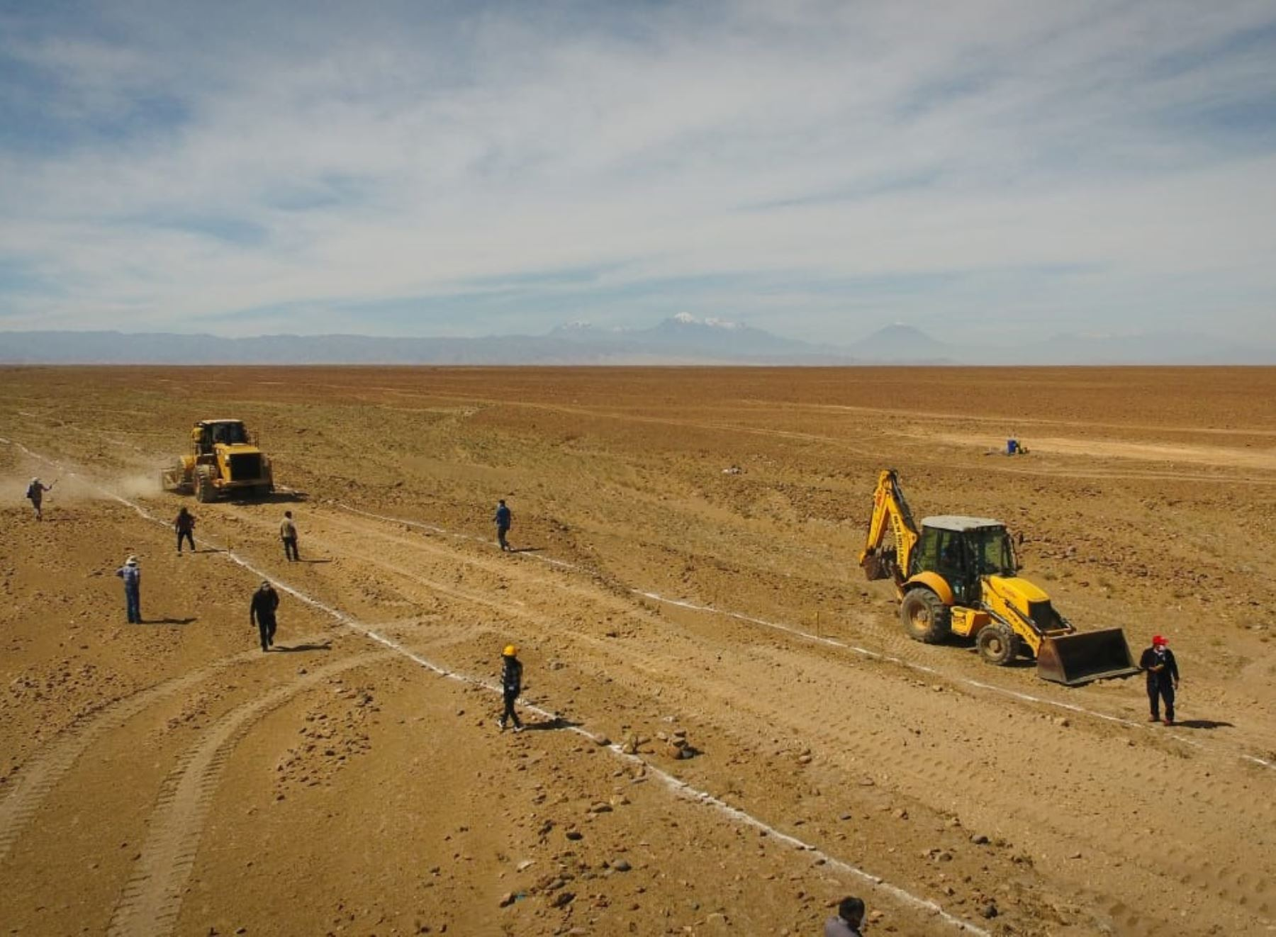 Proyecto Majes-Siguas II. ANDINA/Difusión