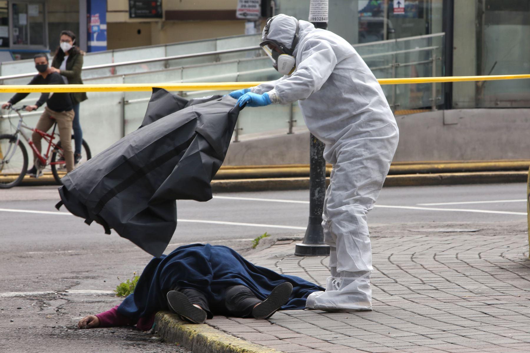 Ecuador es una de las naciones latinoamericanas más golpeadas por la pandemia. Foto: AFP