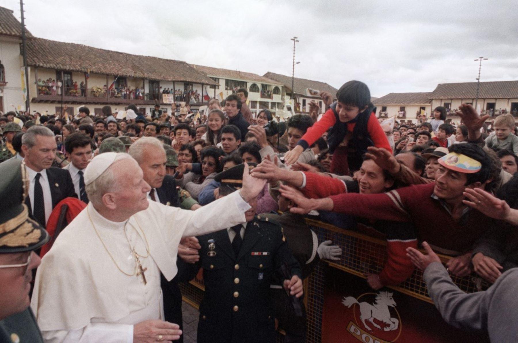 San Juan Pablo II: la justicia de Dios tiene rostro de misericordia